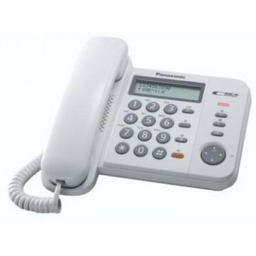 Panasonic - telefono bca KX-TS580 viva voce - bianco