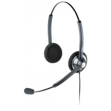 Jabra BIZ 1900 Duo cuffia con microfono cancellazione di rumore BIZ1900