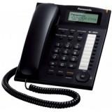 Panasonic KX-TS880 nero telefono fisso bca