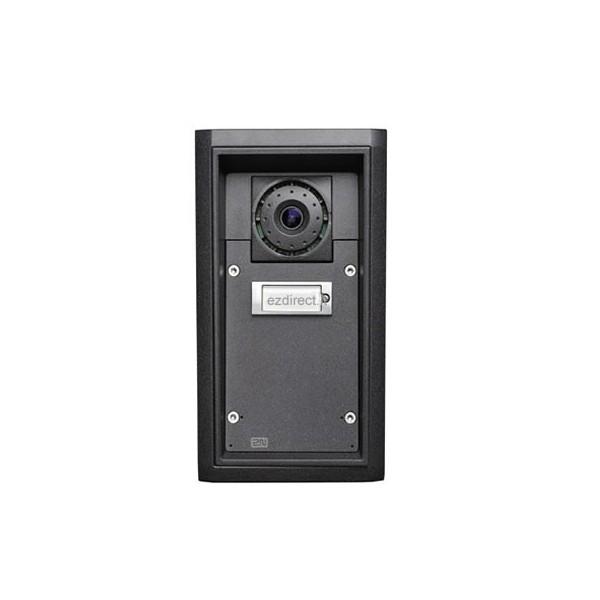 videocitofono voip ip65 antivandalo 2n ip force telecamera