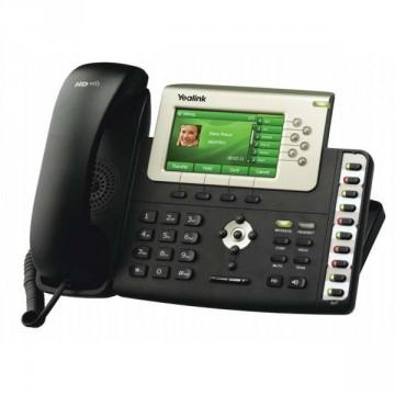 on Telefoni Fissi   Voip   Yealink Sip T38g Telefono Ip Poe 2 Lan Gigabit