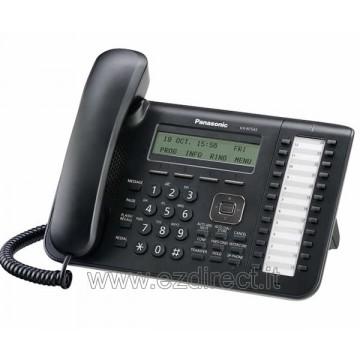 Panasonic kx-nt543-B Telefono IP specifico colore nero