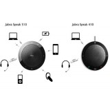 Jabra Speak 510 UC viva voce usb e bluetooth