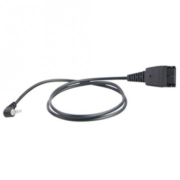 Cavo jack 2,5 mm per cuffie telefoniche Ezlight e Jabra EZD-QD011