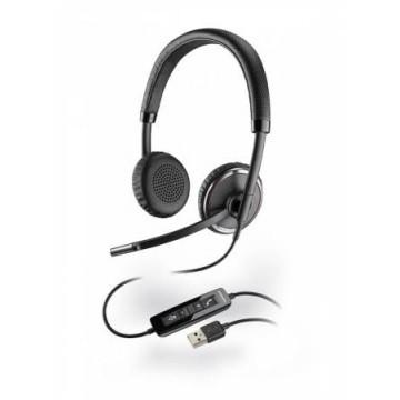 Plantronics Blackwire C520 DUO cuffia USB con smart sensor