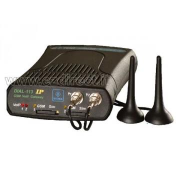 Gateway VoIP GSM 2 SIM Tema DIAL-113