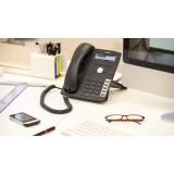 Snom 715 telefono IP SIP PoE  2 porte Gigabit