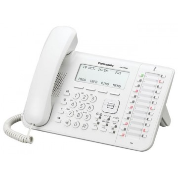 Panasonic KX-DT546 telefono digitale bianco