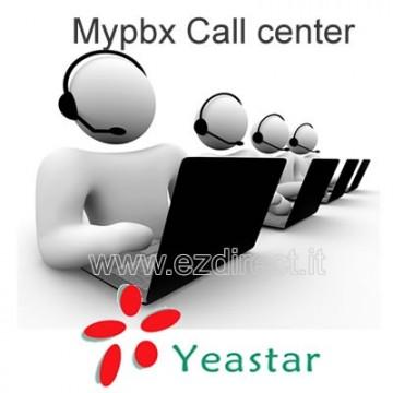 Yeastar MyPBX Call Mart licenza per code call center