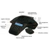 Alcatel Conference 1800 viva voce con  microfoni fissi e wireless