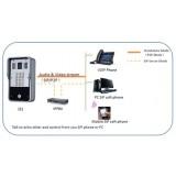Fanvil i31 citofono VoIP da esterno IP65 con telecamera