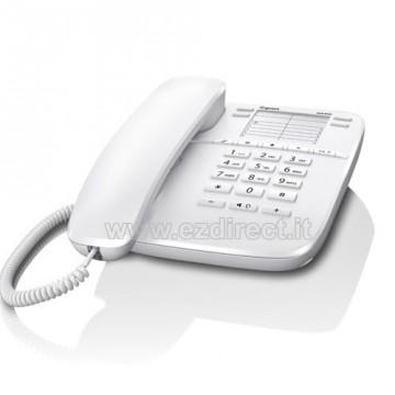 Gigaset DA410 telefono analogico bianco con presa cuffia