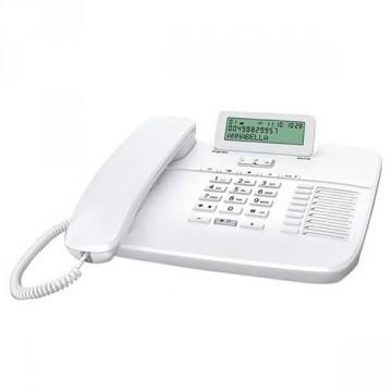 Gigaset DA710 telefono analogico bianco con presa cuffia