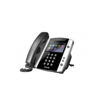 Polycom VVX600 Skype for Business Edition- 16-line Phone - alimentatore non incluso