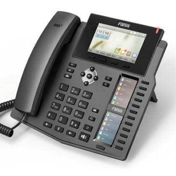 Fanvil X6 Telefono IP design con USB per dongle bluetooth