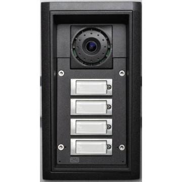 2N helios IP Force 4 tasti, telecamera, 10W