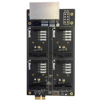 Yeastar EX08 per 4 moduli per S100 S300