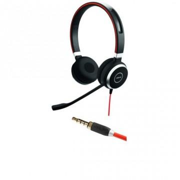 Jabra Evolve 40 duo con il solo cavo jack 3,5 mm (no USB)