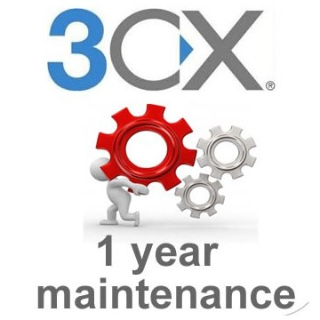 3cx Pro Edition 8SC 1 year Maintenance