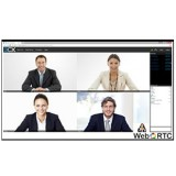 3cx Webmeeting conferenza via web WebRTC
