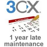 3cx Pro 4SC 1 year late maintenance