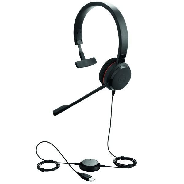 Jabra Evolve 65 Uc Mono Wireless Headset With Jabra Link: Jabra Evolve 30 II MS Mono
