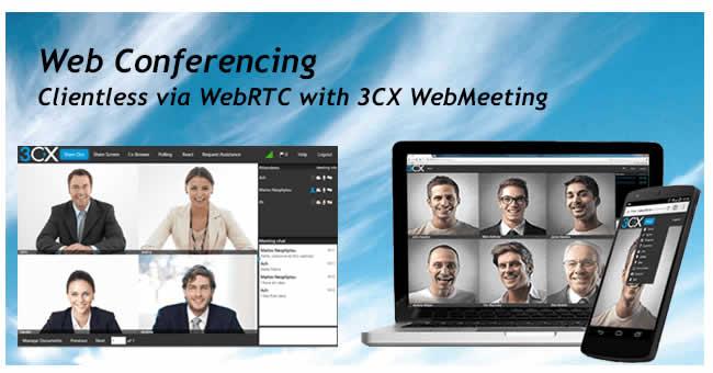 3cx webconference webrtc