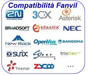 Fanvil compatibilità 3CX asterisk