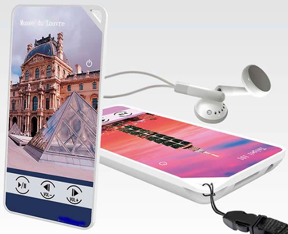 Digital audio guide eztg-ag02