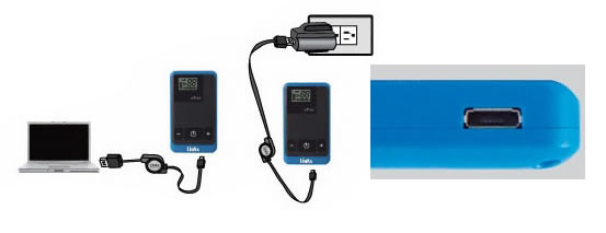 Carica usb tour guide system