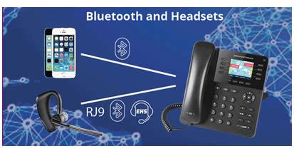 telefono Ip grandstream GXP2135 bluetooth