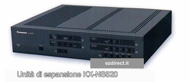 Ampliemante NS500 con KX-NS520