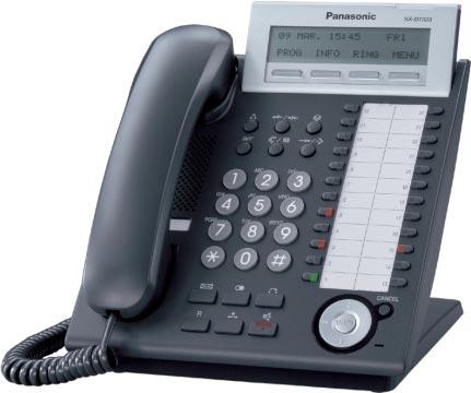 Panasonicd KX-DT333 nero