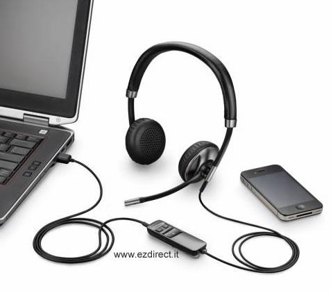 Cuffia con microfono per PC