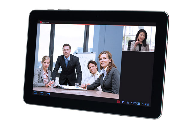 videoconferenza tablet polycom