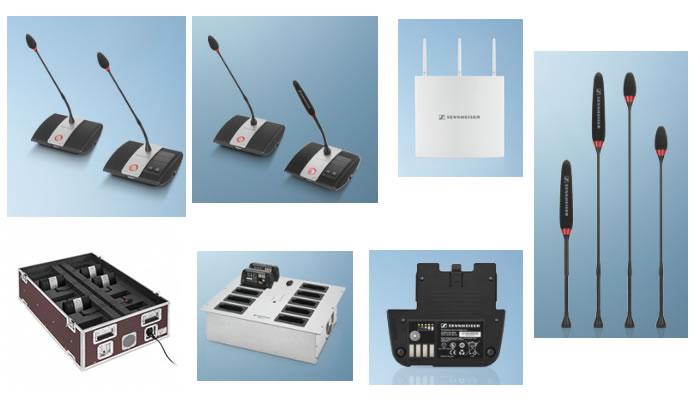 sennheiser audio sistema sala riunioni