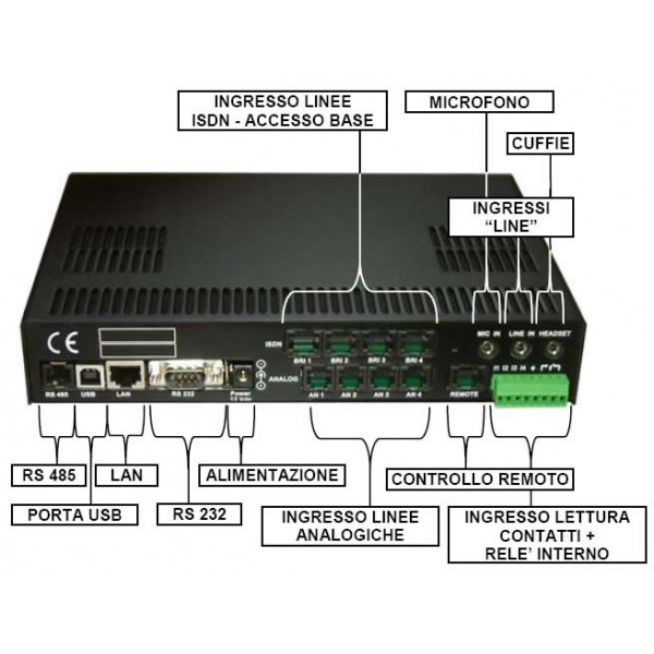 TDR40 registratore