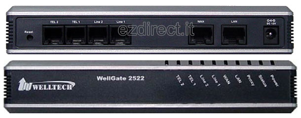 wellgate 2522gateway 2 fxo 2fxs for 3cx
