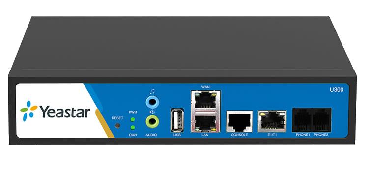 Yeastar Mypbx U300 connessioni