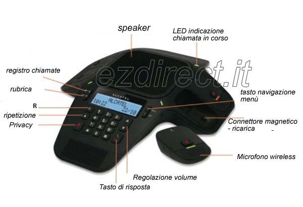 Alcatel conference 1800 viva voce