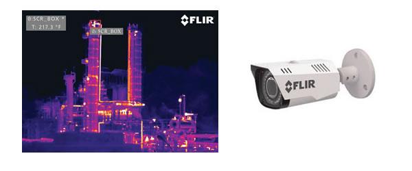 flir termocamera industria
