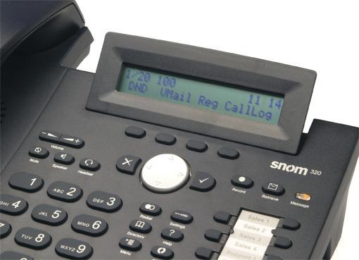 snom 320 telefono
