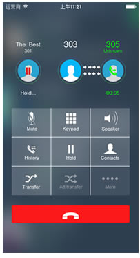 softphone iphone