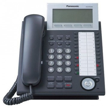 Telefono IP Panasonic KX-NT346 nero ricondizionato