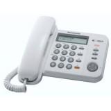 Panasonic - telefono bca KX-TS580EX1W viva voce - bianco