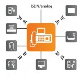 Gigaset DX800A centralino isdn voip cordless