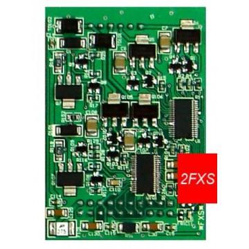Yeastar scheda 2 interni fxs Modulo S2