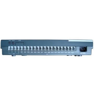 Centralino telefonico analogico per 4 linee 16 interni
