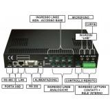Registratore telefonico per 2 ISDN fino a 180 ore