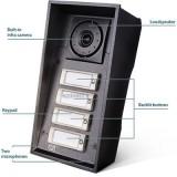 2N videocitofono HELIOS IP Force 4 tasti e telecamera